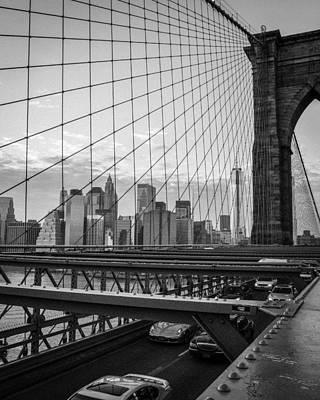 Animal Paintings David Stribbling - Brooklyn Bridge View by Nicole Freedman