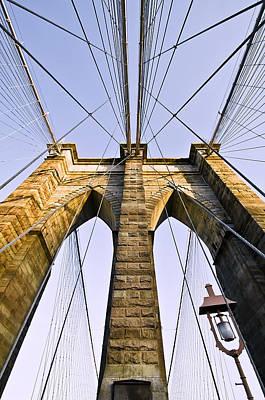 Brooklyn Bridge01 Art Print