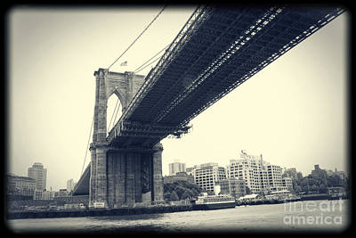Brooklyn Bridge1 Art Print by Paul Cammarata