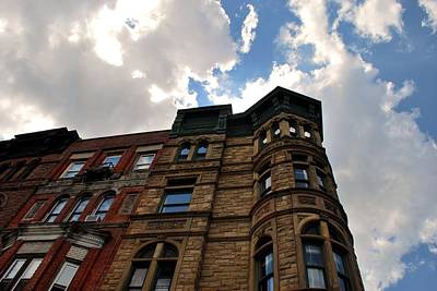 Photograph - Brooklyn Building And Sky by Cleaster Cotton