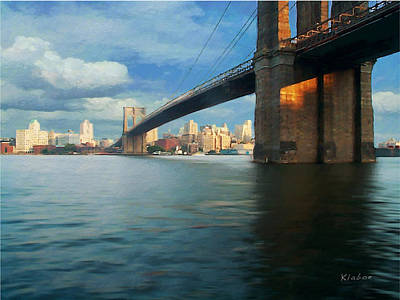 Digital Art - Brooklyn by David Klaboe