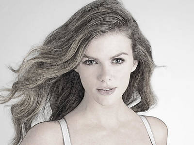 Brooklyn Decker Art Print