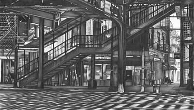 Brooklyn El Original by Jerry Winick