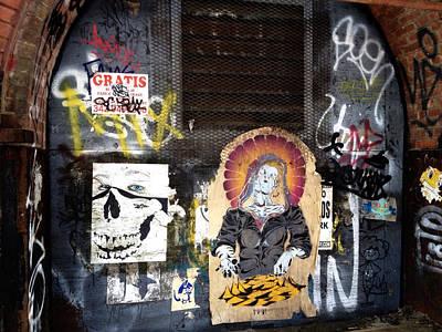 Stencil Art Photograph - Brooklyn Graffiti by Natasha Marco