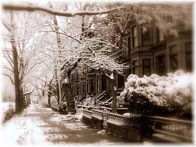 Sugar Skulls - Brooklyn Heights Snow by Jeff Watts
