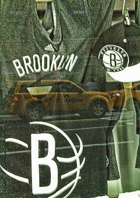 Brooklyn Nets Art Print by Karol Livote