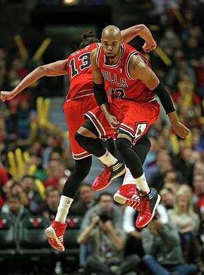 Photograph - Brooklyn Nets V Chicago Bulls by Jonathan Daniel