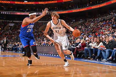 Photograph - Brooklyn Nets V Philadelphia 76ers by Jesse D. Garrabrant