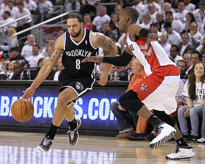 Photograph - Brooklyn Nets V Toronto Raptors - Game by Claus Andersen