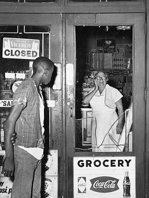 Brooklyn Storefronts Photograph - Brooklyn Riots, 1964 by Granger