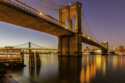 Bridge Photograph - Brooklyn Sunrise by Anthony Fields