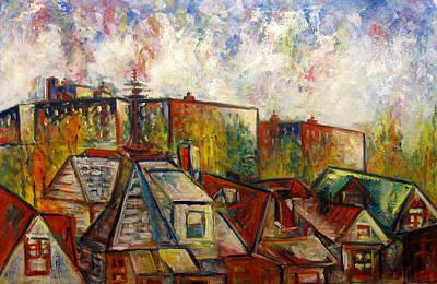 Painting - Brooklyn View by Vladimir Kezerashvili