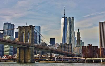 Photograph - Brooklynn Bridge by Bruce Bley