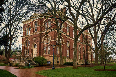 Photograph - Brooks Hall At University Of Virginia by Jerry Gammon