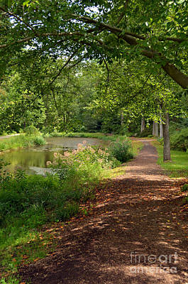 Digital Art - Brookside Garden Walk by Eva Kaufman