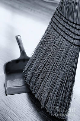 Photograph - Broom And Dust Pan by Danny Hooks