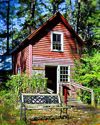 Photograph - Broom House At Furnace Town by Bill Swartwout Fine Art Photography