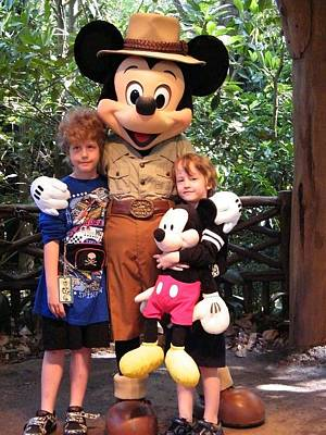 Photograph - Bros Mickey Safari by Ronda Douglas