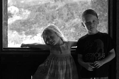 Photograph - Brother And Sister by Sue McGlothlin