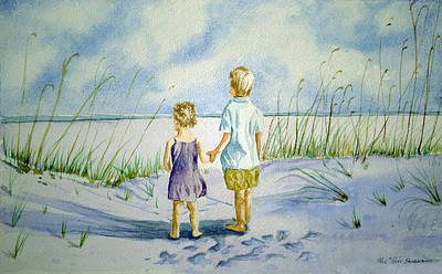 Going Green - brother and sister.. THE OCEAN by Paul Sandilands