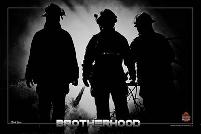 Brotherhood 2 Art Print by Mitchell Brown
