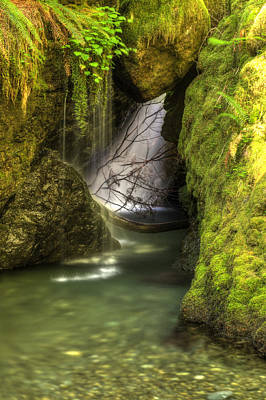 Photograph - Brothers Cave- Redux by Joshua Cramer