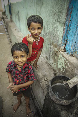 Photograph - Brothers In Omkareshwar by Valerie Rosen