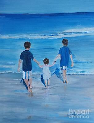 Painting - Brothers by Jill Morris