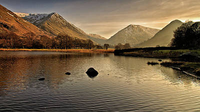 Ambleside Wall Art - Photograph - Brothers Water by Ian Allington Photography