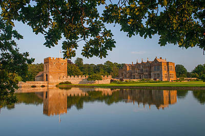 Broughton Castle Art Print by David Ross