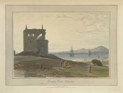Broughty Castle In Forfarshire Art Print