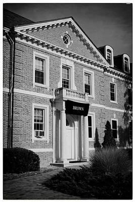 James Madison University Photograph - Brown At Duke by Georgia Fowler