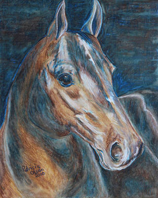 Brown Beauty  Art Print by Patricia Olson