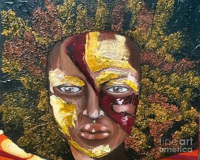 Jamaican Woman Painting - The Price Of Beauty by Rhonda Falls