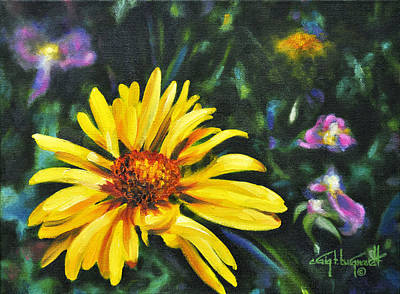 Painting - Brown-eyed Susan by Craig T Burgwardt