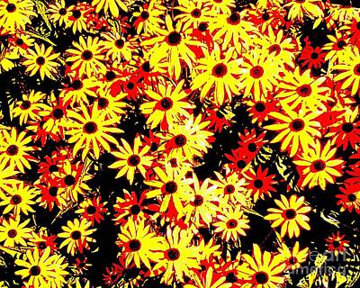 Brown Eyed Susans I Art Print
