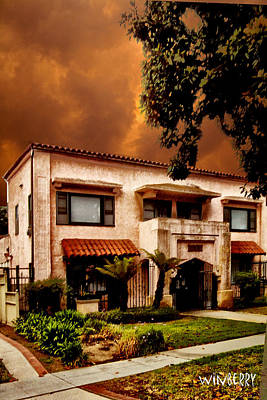Brown House 2 Art Print by Bob Winberry