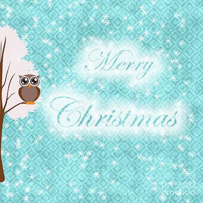 Christmas Photograph - Christmas Card 7 by Nina Ficur Feenan