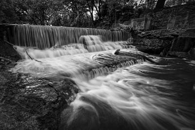 Photograph - Brown Park Waterfall by Scott Bean