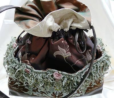 Tapestry - Textile - Brown Sugar Melange-sold by Tracie L Hawkins