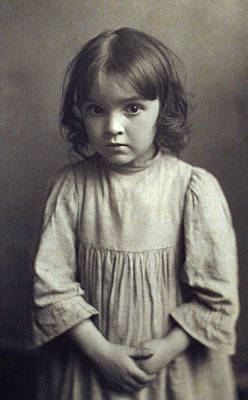 Photograph - Brownell Child, C1900 by Granger