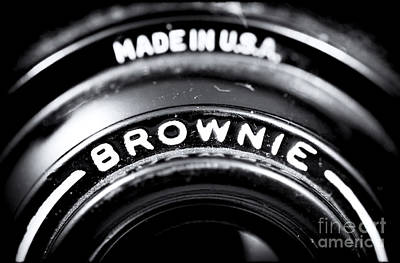 Snapshots Wall Art - Photograph - Brownie by John Rizzuto