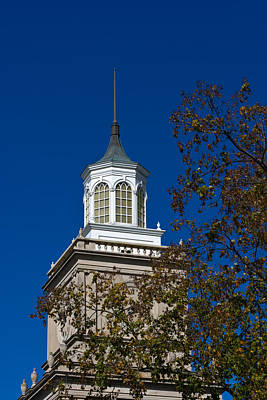 Photograph - Browning Administration Building Tower by Ed Gleichman