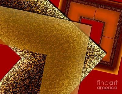 Fantasy Photograph - Brownish Design by Mario Perez
