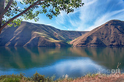 Photograph - Brownlee Reservoir by Robert Bales