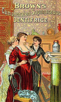 Brown's Dentifrice Art Print