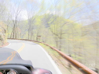 Digital Art - Brp Back Road by Angelia Hodges Clay