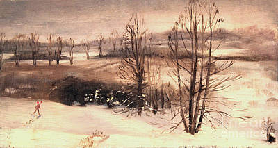 Painting - Barrington In Winter by Art By Tolpo Collection