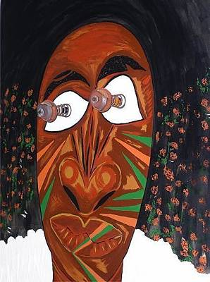 Painting - Bru Man by Cleaster Cotton