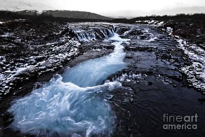 Photograph - Bruarfoss by Roddy Atkinson